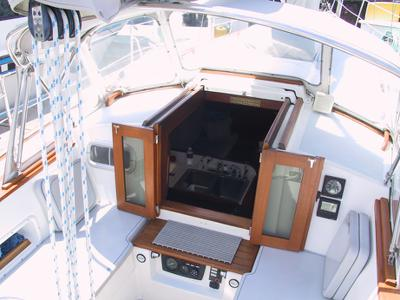Companionway Doors Morgan 38 Sailboat Forum