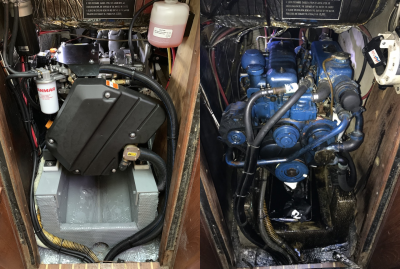 Repowering: Perkins 4-108 to Yanmar 4JH45 | Morgan 38 Sailboat Forum