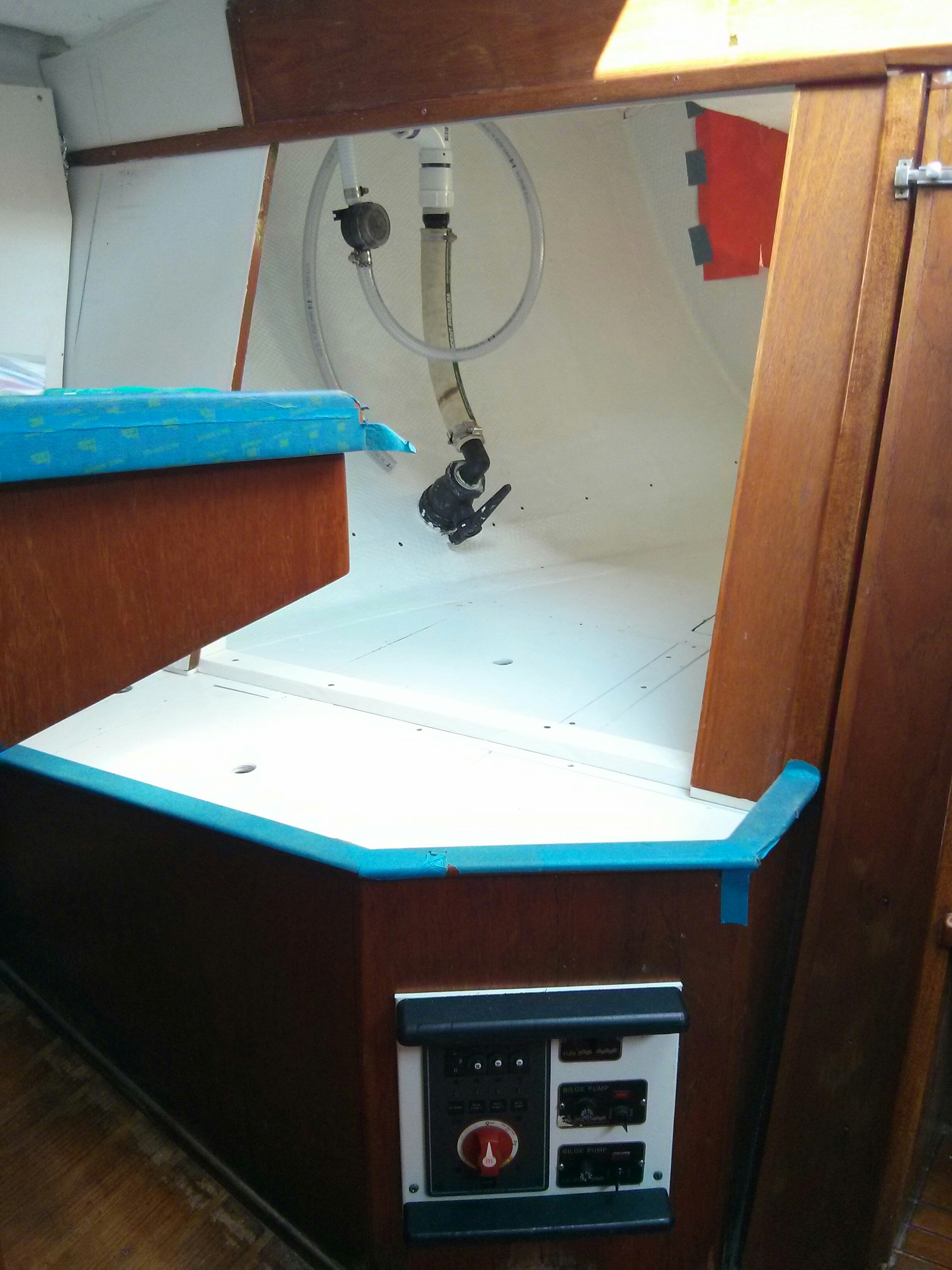 wiring diagram morgan 38 sailboat forum new battery bilge pump switch panel installed